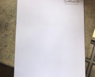 Unser neues Briefpapier ist da!
