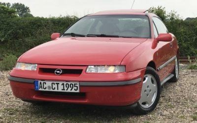 Neue Felgen und Reifen für unseren Opel Calibra!